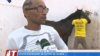 Ciclone é bi-campeão da Corrida de Cavalos de São João Baptista 2019