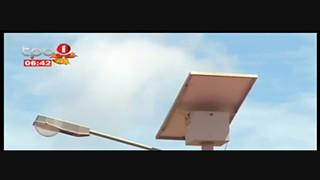 Baterias dos paine?is solares saqueadas no bairro Ritondo, em Malanje