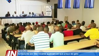 Armadores em São Vicente queixam-se que preço do gelo é insustentável, em encont