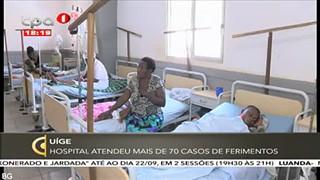 Uíge - Hospital atendeu mais de 70 casos de ferimentos