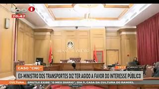 """Caso """"CNC"""" - Ex-Ministro dos transportes diz ter agido a favor do interesse pu?b"""