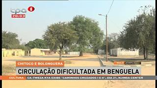 Chitoco e Bolonguera - Circulação dificultada em Benguela