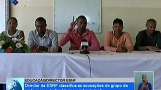 Director da Escola Napoleão Fernandes classifica as acusações do grupo de profes