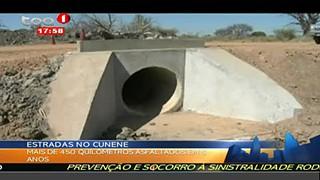 Estradas no Cunene - Mais de 450 quilometros asfaltados em 5 anos
