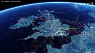 Controladores aéreos ingleses avisam para excesso de voos
