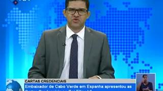 Embaixador de Cabo Verde em Espanha apresentou as cartas credenciais ao Rei Fili