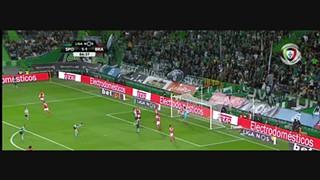 Sporting CP, Jogada, S. Doumbia, 87m