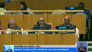 Ulisses Correia e Silva defende uma representação permanente da África no cons.