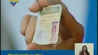 Venezuela: Leitor eletrónico recusa cartão de cidadão de Maduro
