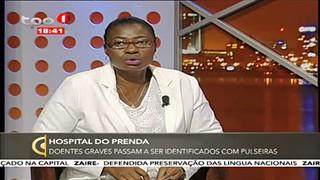 Entrevista - Com a chefe de enfermagem do Hospital do Prenda