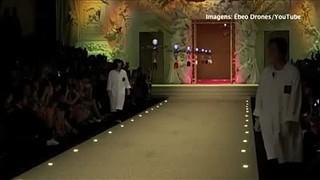 Nova coleção de carteiras da Dolce & Gabbana...por drones