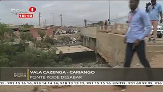 """Vala Cazenga - Cariango """"Ponte pode desabar"""""""