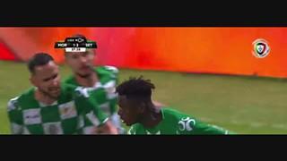 Moreirense FC, Golo, Alfa Semedo, 38m, 1-2
