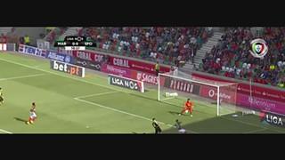 Sporting CP, Jogada, Bruno Fernandes, 11m