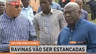 Sanza, Buengas e Quimbele - Ravinas vão ser estancadas