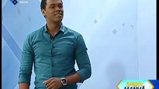 Show da Manhã: Momento musical com Manu di Tarrafal
