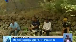 Falta de água preocupa agricultores criadores do vale de Maiama, Ribeira Brava