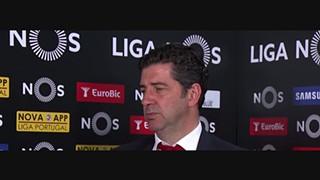 Liga (34ª): Flash interview Rui Vitória
