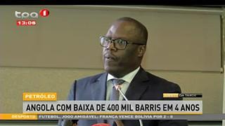 Angola com baixa de 400 mil barris em 4 anos