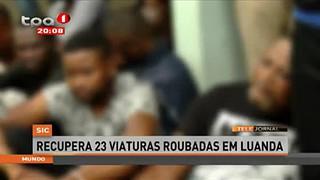 SIC - Recupera 23 viaturas roubadas