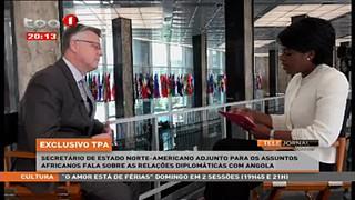 Angola - EUA 26 anos de relac?o?es diploma?ticas