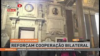Angola reconhece contributo da Igreja Católica