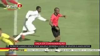 Petro de Luanda vence Stade Malien e regressa a? fase de grupos 13 anos depois