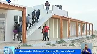 Eco-Museu das Salinas do Porto Inglês, considerado um dos melhores pontos de atr