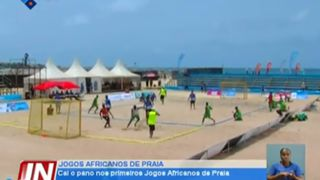 Cai o pano nos primeiros Jogos Africanos de Praia