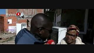 Programa Na Lente - Entrevista angolanos que vivem em Lisboa no bairro da Jamaic
