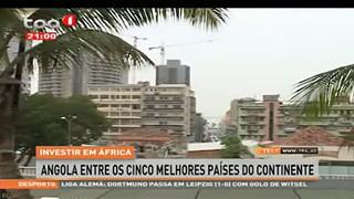 Investir em A?frica Angola entre os cinco melhores pai?ses do continente