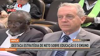 MPLA destaca estratégia de Neto sobre Educação e o Ensino
