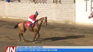 Criston foi o cavalo mais veloz da corrida São Silvestre 2019