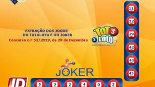 Extracção Totoloto e do Joker