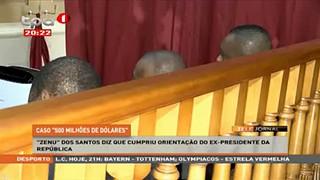 """""""Zenu"""" Dos Santos diz que cumpriu orientação do Ex-Presidente da República"""