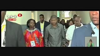 Presidente da Repu?blica, avalia sector social no Alto Zambeze