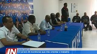 Cabo Verde já tem 29 monitores que irão orientar o trabalho físico e técnico dos