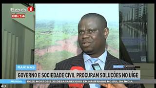Ravinas - Governo e sociedade civil procuram soluc?o?es no Ui?ge
