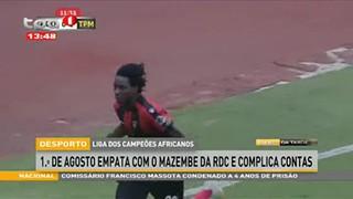 Liga dos Campeo?es Africanos - 1.º De Agosto empata com o Mazembe da RDC e compl