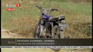 Estrada Saurimo - Sombo necessita de intervenc?a?o