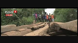 Estrada N`golaluje- Kiwaba nzoje - Resposta ponte meta?lica em Malanje