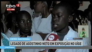 Hero?i Nacional - Legado de Agostinho Neto em exposic?a?o no Ui?ge
