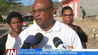 CM São Domingos, em Santiago, entrega casas reabilitadas a 20 famílias da locali
