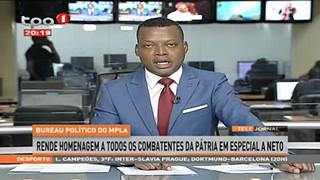 MPLA rende homenagem a todos combatentes da pátria em especial a Neto