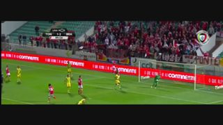 SC Braga, Jogada, Fábio Martins, 90m