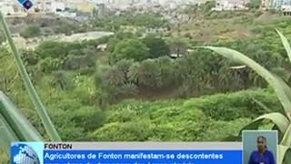 Agricultores de Fonton, Praia, manifestam-se descontentes com obras de drenagem