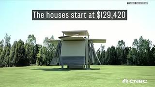 Casas que se constroem como transformers (em minutos)