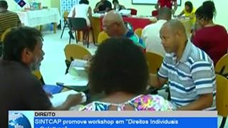 SINTCAP promove workshop em