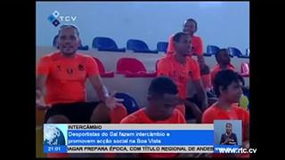 Desportistas do Sal fazem intercâmbio e promovem acção social na Boa Vista
