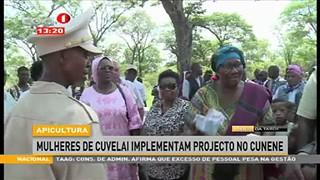 Mulheres de Cuvelai implementam projecto no Cunene